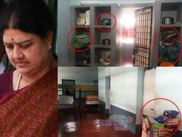 Photos Reveled Vip Treatment For Sasikala In Parappana Agrahara