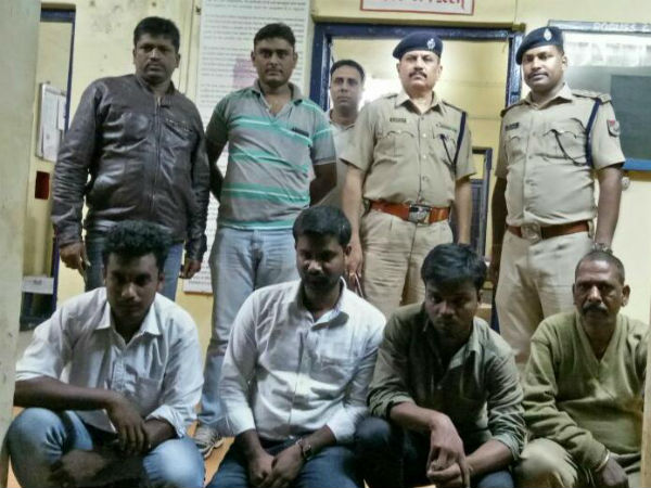 Four men arrested for cheating job seekers in Hubballi
