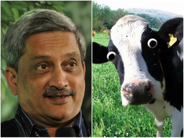 Manohar Parrikar Says Goa Can Import Beef From Karnataka