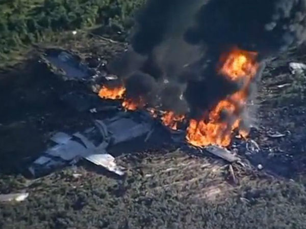 US military plane crash in Mississippi kills 16
