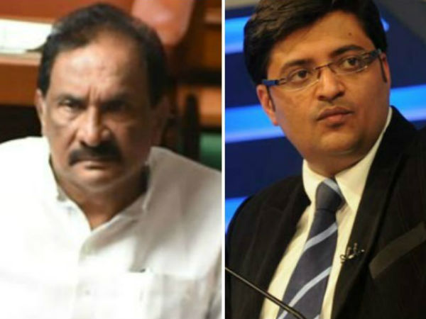 Karnataka Minister Kj George Files Defamation Suit Against Arnab Goswami