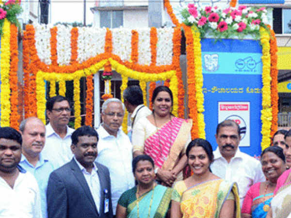 Five E-Toilets launched in Mangaluru city