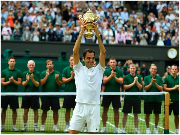 Roger Federer beats Marin Cilic to lift record eighth Wimbledon title