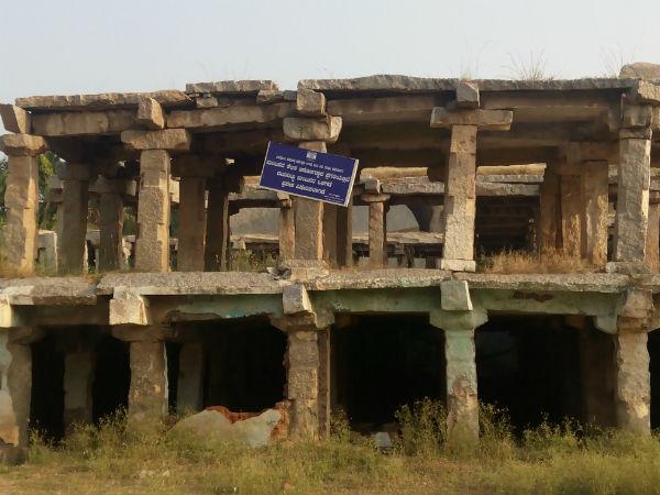 ಹಂಪಿ: ಪಾಳುಬಿದ್ದ ಹಿರೇಛತ್ರದ ಪುನರುತ್ಥಾನಕ್ಕೆ 2 ಕೋಟಿ ರು.
