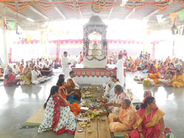 Sapthami Pooja Mahotsava Has Taken Place In Shravanabelagola Hassan On July 31st