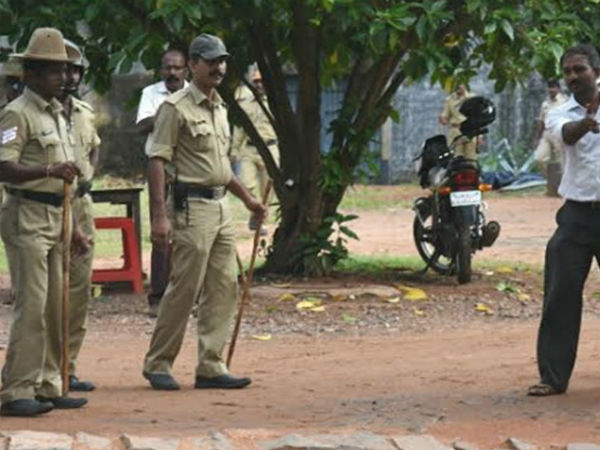 Barke Police officials investigates Mangaluru central Jail over 'Blasting Party'