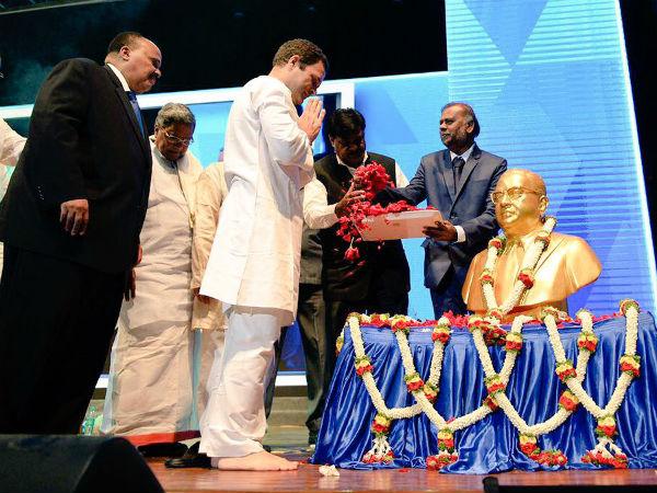 ಅಂಬೇಡ್ಕರ್ ಸಮಾವೇಶಕ್ಕೆ ರಾಹುಲ್, ಮಾರ್ಟಿನ್ ಲೂಥರ್ ಕಿಂಗ್-3 ಚಾಲನೆ