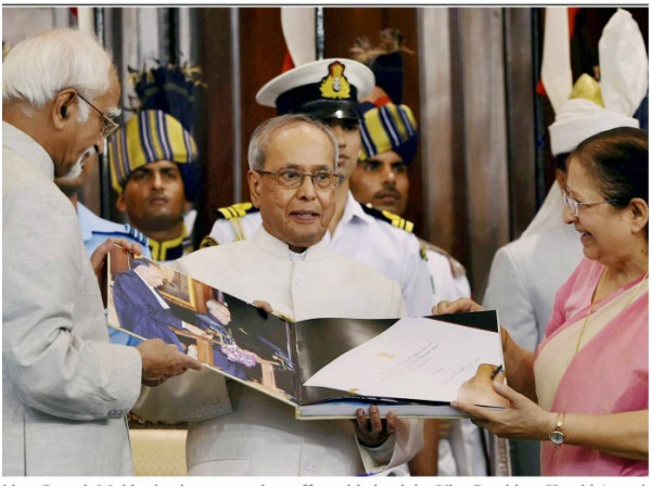 Farewell Pranab Mukherjee: Outgoing President thanks Pariament for 'creating' him