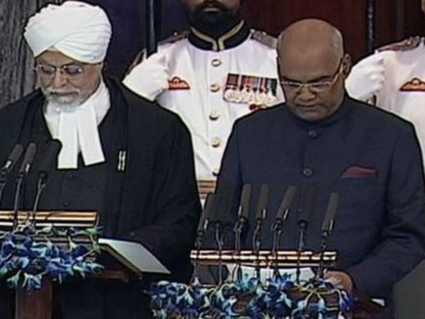 New President Of India S First Speech In Central Hall Of Parliament