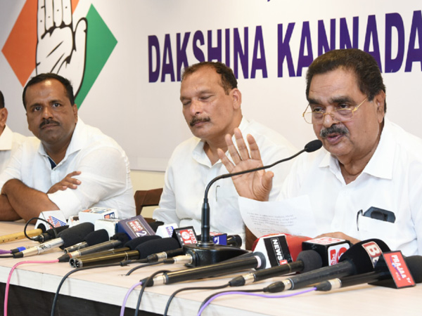 Let the ED calculate the illegal assets of Sadananda Gowda and Karandlaje - Ramanath Rai