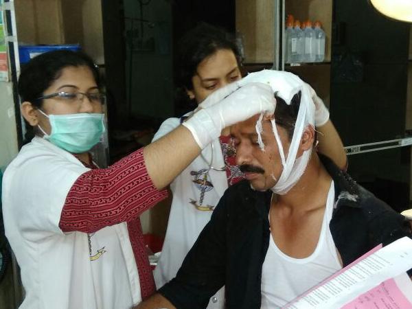 ಮಂಗಳೂರು ಕೇಂದ್ರ ರೈಲ್ವೇ ನಿಲ್ದಾಣದಲ್ಲಿ ಮೇಲ್ಘಾವಣಿ ಕುಸಿದು ಹಲವರಿಗೆ ಗಾಯ
