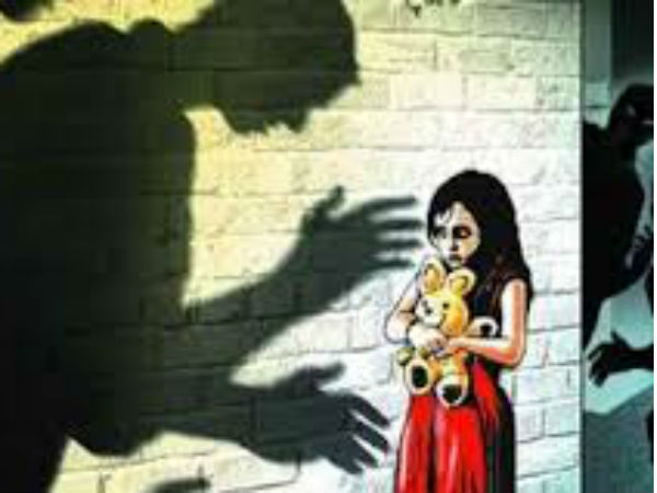 A minor girl raped by person at her residence