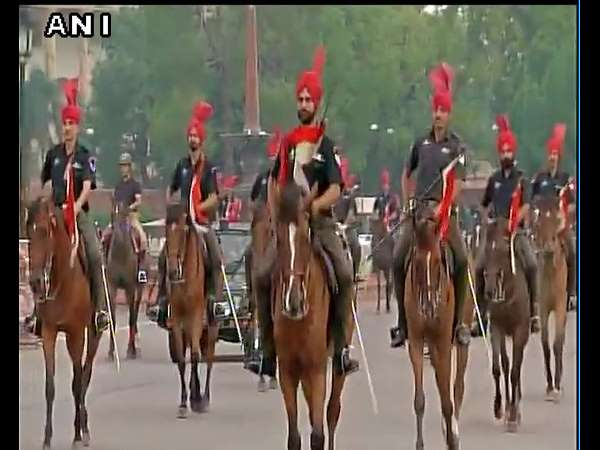 Rehearsal For Swearing-In Ceremony Of New President Started At Delhi's Vijay Chowk