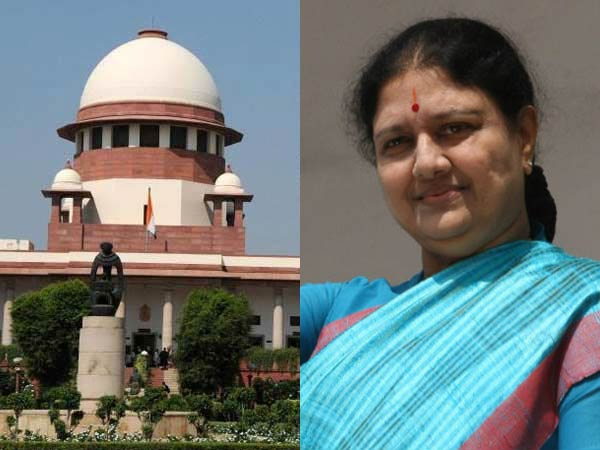 Can't decide on Sasikala's party positions: Supreme Court