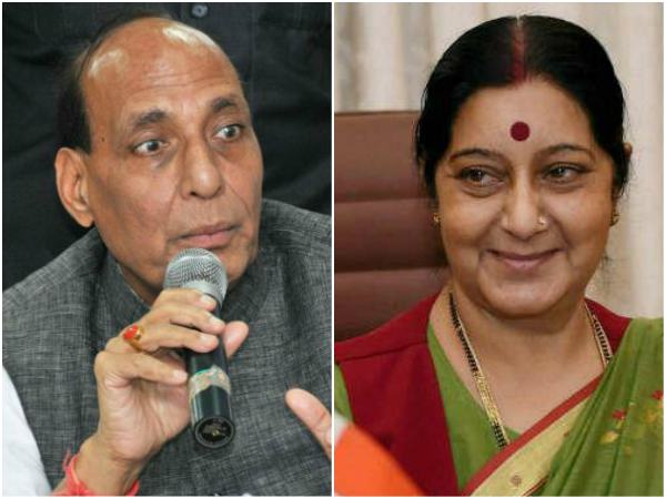 Rajnath, Sushma to brief Oppn on China standoff, Kashmir issue