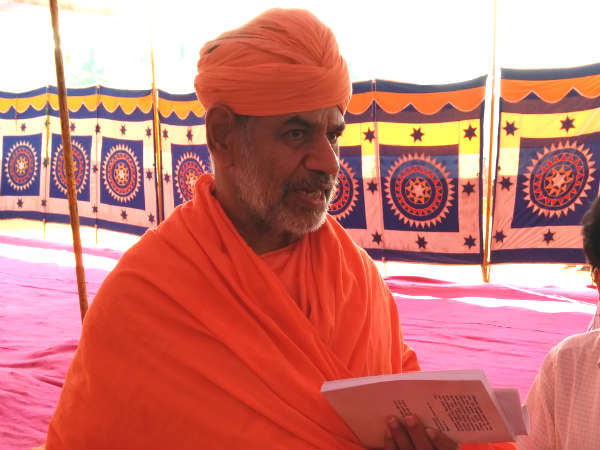 Every Person Should Give Up Ego Anger Self Satisfaction Shri Charukirti Swamiji Says In Hassan