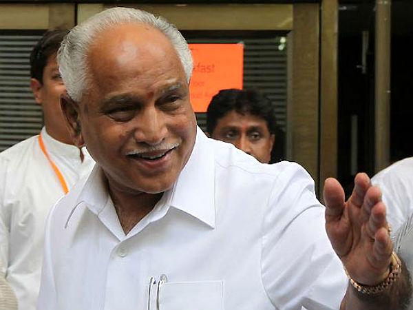 ACB FIR on de-notification cases : Minor relief for B.S.Yeddyurappa