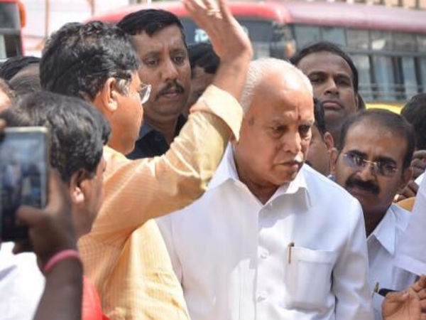 CB registered FIR against BSY : This is a political conspiracy says Yeddyurappa