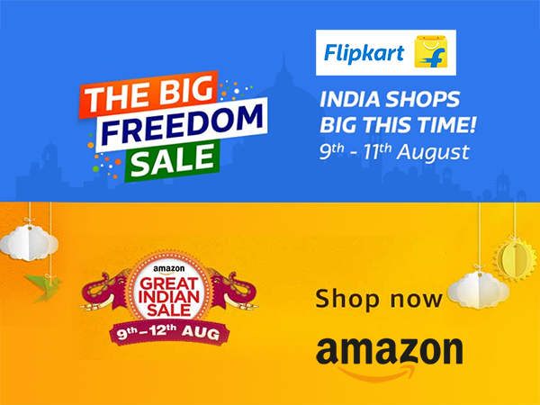 The Amazon Great Indian Sale & Flipkart Big Freedom Sale: Get Up To 80% Off