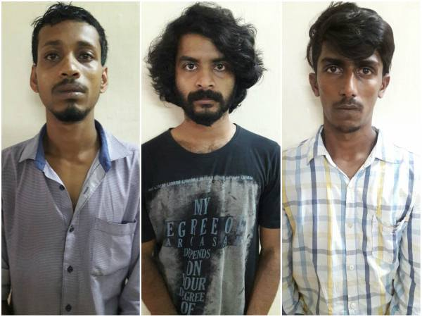 CCB Police Arrested three Ganja peddlers at Kadri, Mangaluru