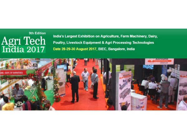 Agri Tech India 2017 in Bengaluru for farmers