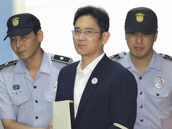 Samsung heir Lee Jae-yong jailed for five years