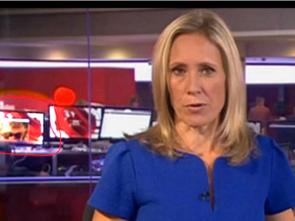 BBC News at 10 accidentally live broadcast obscene clipping