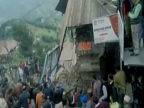 One killed, six injured in building collapse in Shimla