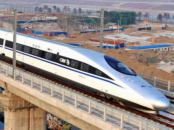 World S Fastest Bullet Train Run Between Beijing And Shanghai Touching Top Speed Of 350 Kmph
