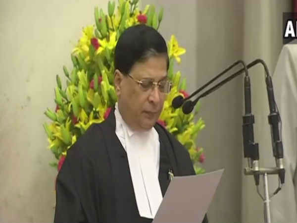 Justice Dipak Misra Takes Oath As The Chief Justice Of India Cji