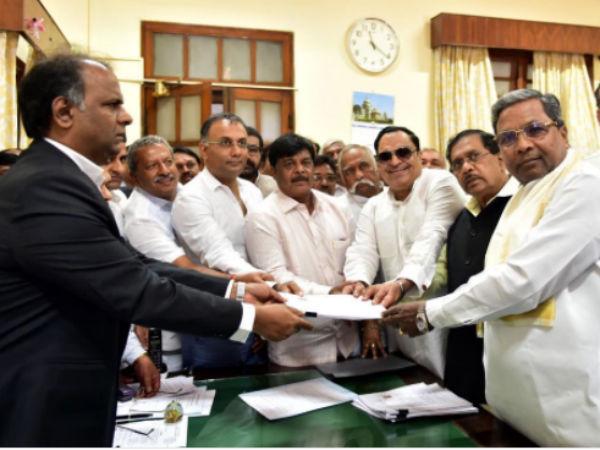 Legislative Council By Election Cm Ibrahim Files Nomination
