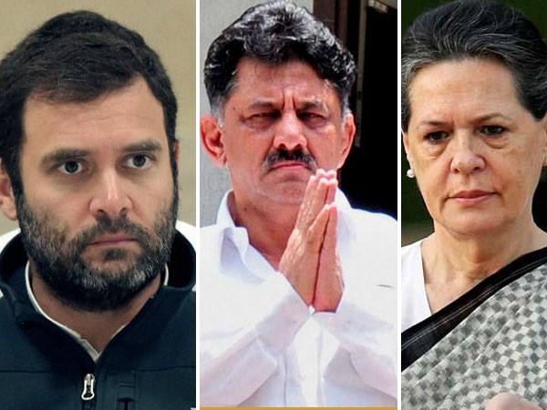 It Raid Congress High Command Ordered Not To Support Dks Directly