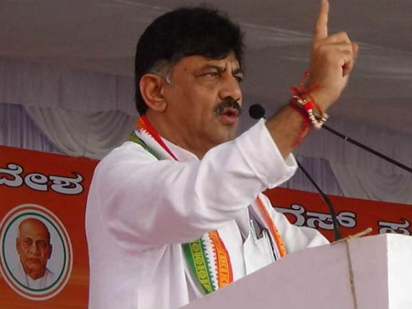 Income tax department issues notice to Power Minister DK Shivakumar