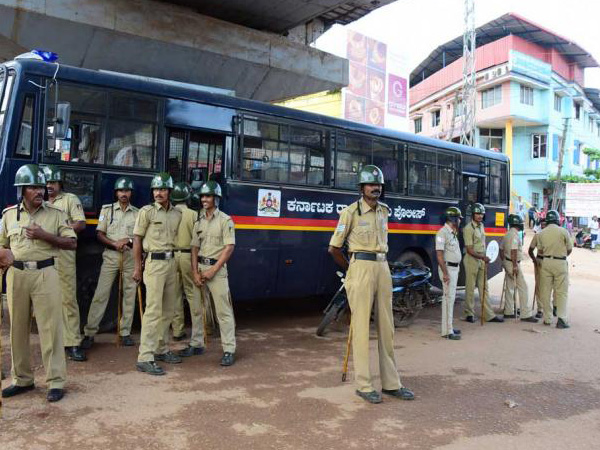 Police constables had to loose their health for the safety of people at Bantwal