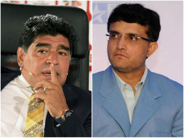 Dhanraj Pillay Sourav Ganguly To Play In Charity Match With Diego Maradona