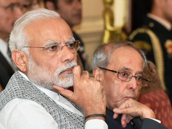 Pm Narendra Modi Writes A Emotional Letter To Ex President Pranab Mukherjee