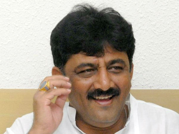 Money laundering : CBI receives complaint against Minister DK Shivakumar