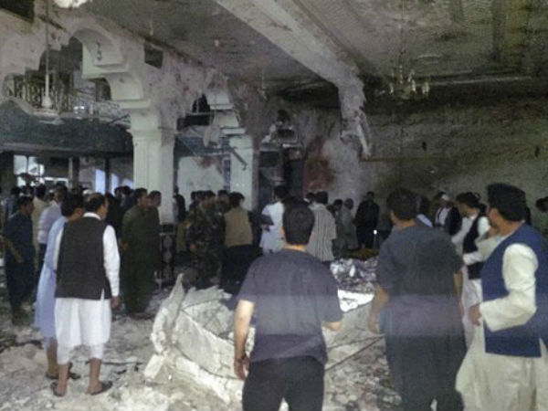 Kabul Shia Mosque Suicide Bombing Kills At Least 30 People