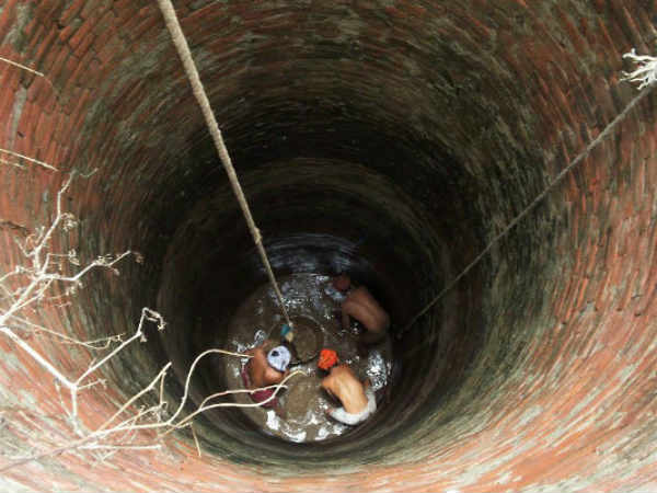 BALLARI DIGS UP THE PAST, BRINGS OLD WELLS TO LIFE