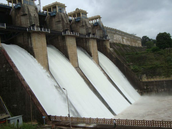 Heavy Rain In Kodagu District Harangi Reservoir Inflow Increased