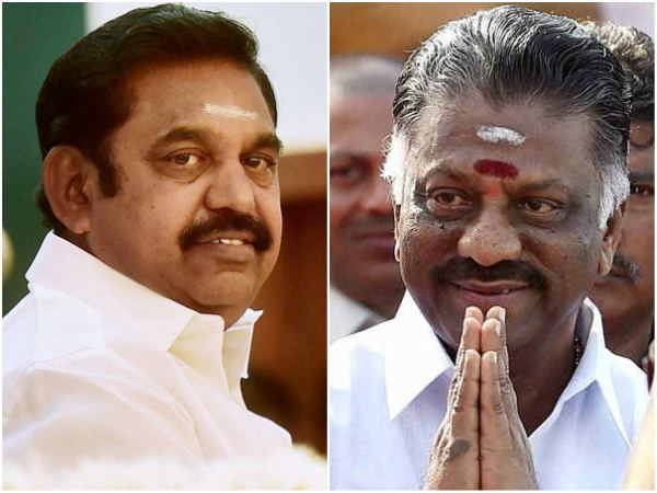 Aiadmk Factions Helmed By E Palaniswami And O Panneerselvam Announce Merger