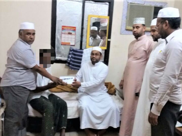 KCF of Saudi Srabia shares helping hands to accident victim at Saudi