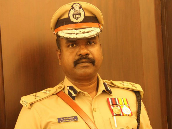 IPS officer P.Harishekaran awarded by American Consulate General