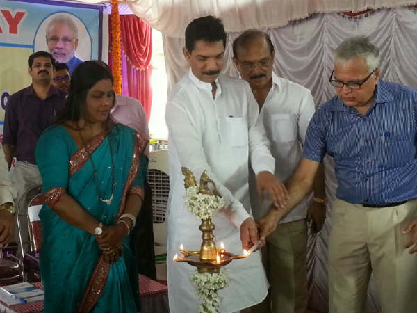MP Nalin Kumar Lays Foundation for Doubling of Netravati-Mangaluru Central Railway