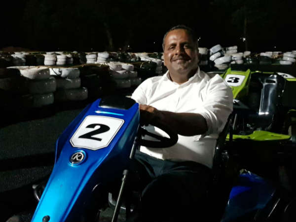 Go Karting car race now in Mangaluru