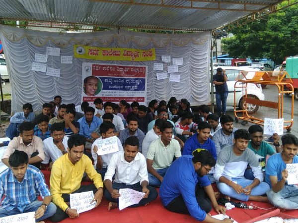 ASCA hold protest seeking justice for Kavya Poojary