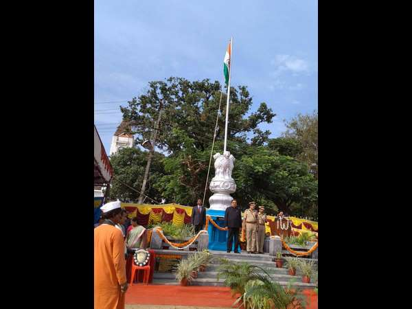 D K Celebrates 71st Independence day with great patriotism