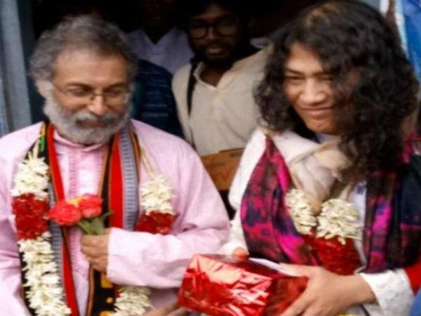 ವೈವಾಹಿಕ ಜೀವನಕ್ಕೆ ಕಾಲಿಟ್ಟ ಇರೋಮ್ ಶರ್ಮಿಳಾ