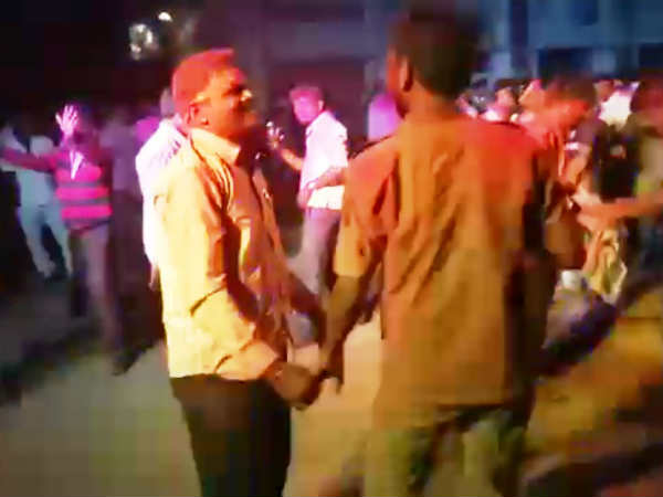Indecent Dance At Ganesha Procession By Ksrtc Employees