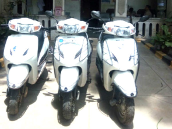 Mysuru police have arrested a man who steals activa bikes